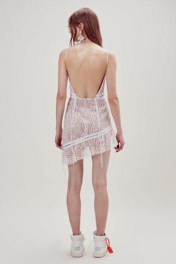 Bright Lights Mini Dress Tirantes White