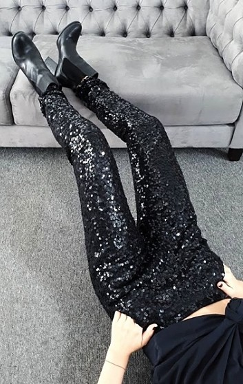 LUNA BLACK PANTS