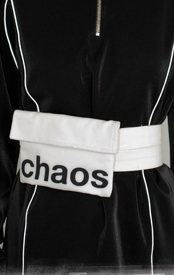 CHAOS BELT OFF WHITE