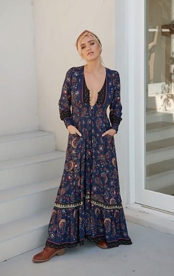 SEVILLE MAXI DRESS