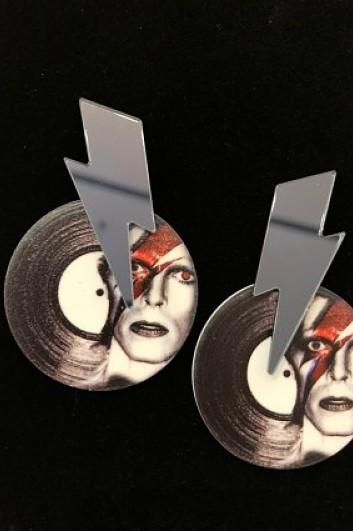 PENDIENTES Disc Bowie